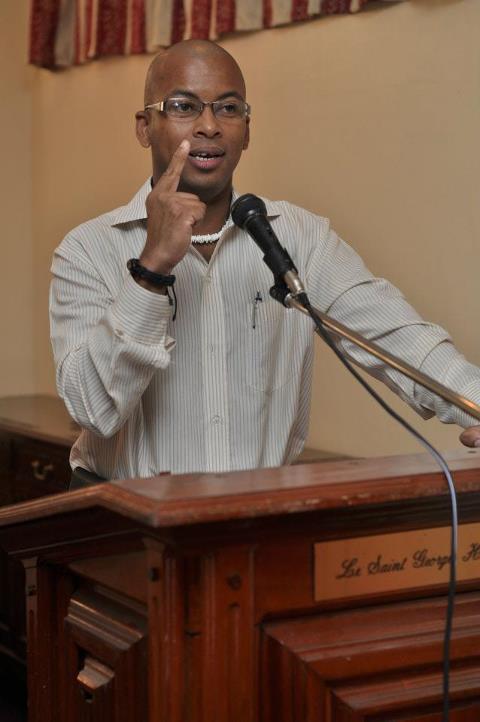 Mervyn Anthony Disability Activist, Motivational Speaker and Executive Member of Azir Moris